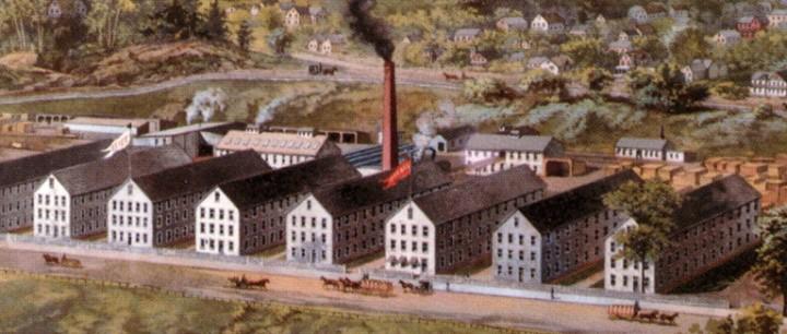 Estey Organ Company Factory, Brattleboro, VT