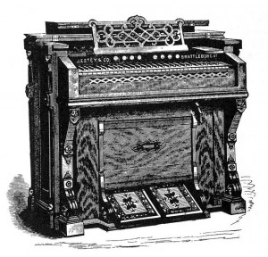 Estey Flattop Cottage Organ