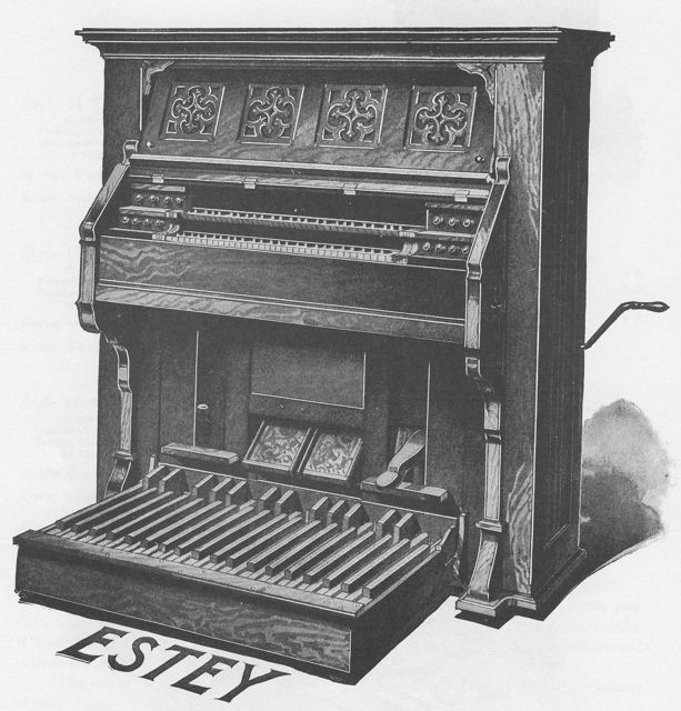 estey two manual with pedal reed organ rh esteyorganmuseum org estey 2 manual reed organ Church Organ