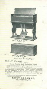 folding organ brochure 1921