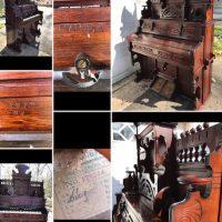 Est. 1887 Etsey Pump Organ wanting restoration!