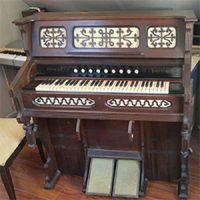 Estey Cottage Organ Serial #121578  1882