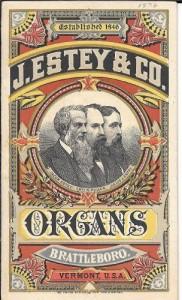 Estey ad 1876