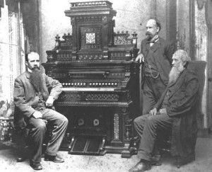 Julius J. Estey, Levi Fuller, and Jacob Estey