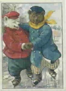 Skating Bears