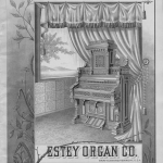 1888 Estey Organ Company catalogue cover