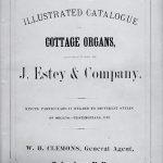 1871 J Estey Catalog Cover